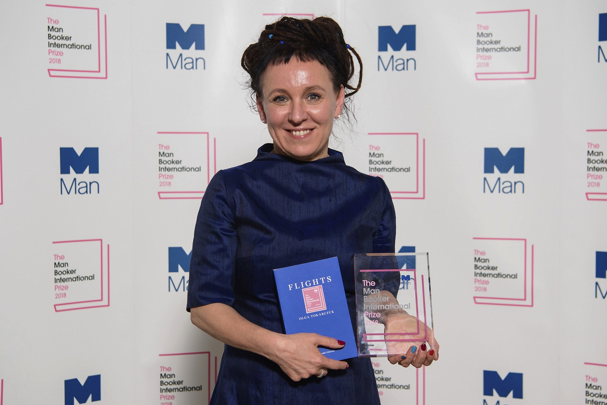 Olga Tokarczuk of Poland Wins Man Booker International Prize