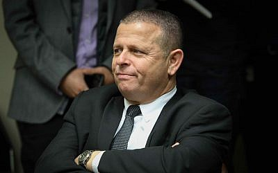Zionist Union MK Eitan Cabel attends a party faction meeting at the Knesset on January 22, 2018. (Flash90)