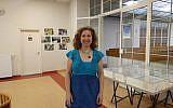 Zsuzsa Fritz, director of the Balint JCC in Budapest. (Yaakov Schwartz/ Times of Israel)