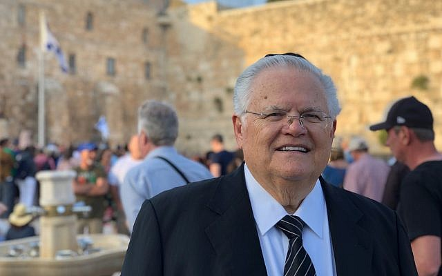 John Hagee, prominent pro-Israel evangelical pastor, ill with COVID-19