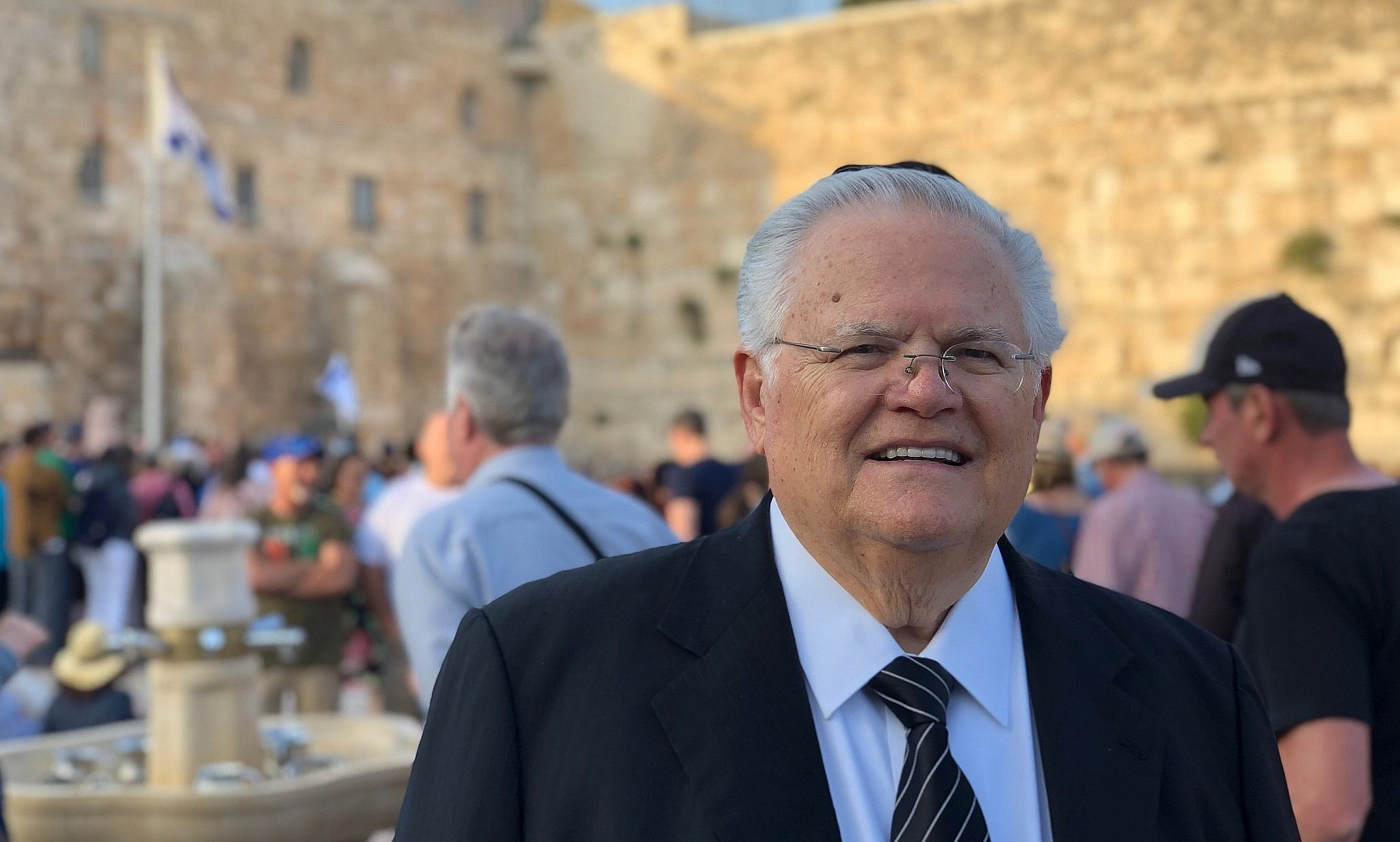Top pro-Israel evangelical leader sees 'wellspring' of