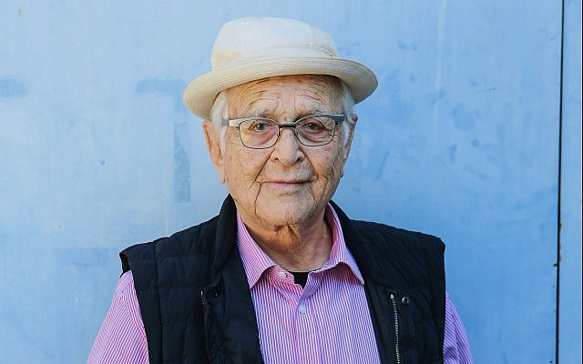 Legendary TV writer and producer Norman Lear continues to create into his 90's. (Courtesy of Norman Lear)