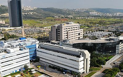 A bird's eye view of MATAM, Haifa's premier technology park where Amazon Israel will be located (CC BY 3.0)