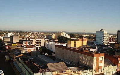 Skyline of Pelotas, Brazil. (CC BY-SA Gustavo.kunst, Wikimedia Commons)