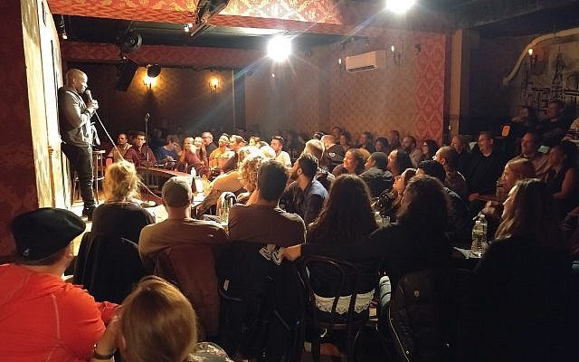 It's a full house at the Stand Up NY comedy club. (Courtesy)