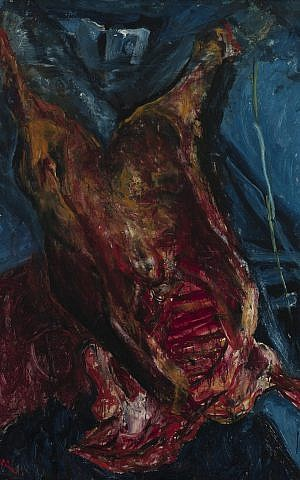 Chaim Soutine, 'Carcass of Beef.' (Courtesy Jewish Museum.