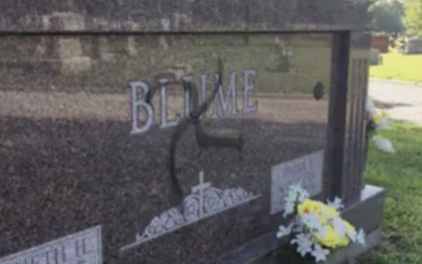 Illinois Man Charged With Painting Swastikas On Cemetery Headstones
