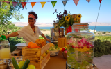 A 40th birthday celebration courtesy of Glamping Israel, which can supply everything, from activities and accommodations to local foods and drink (Courtesy Glamping Israel)