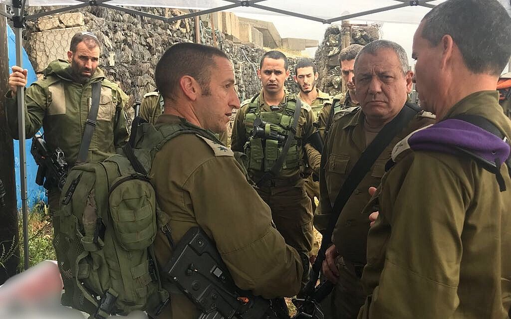 Officer who lost an eye in storied 2006 war battle to lead Golani Brigade