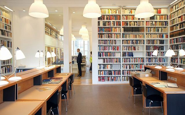 Established in 1933 by Alfred Wiener, a German Jew decorated with the Iron Cross in World War I, the Wiener Library in London is the world's oldest Holocaust museum. (Courtesy)
