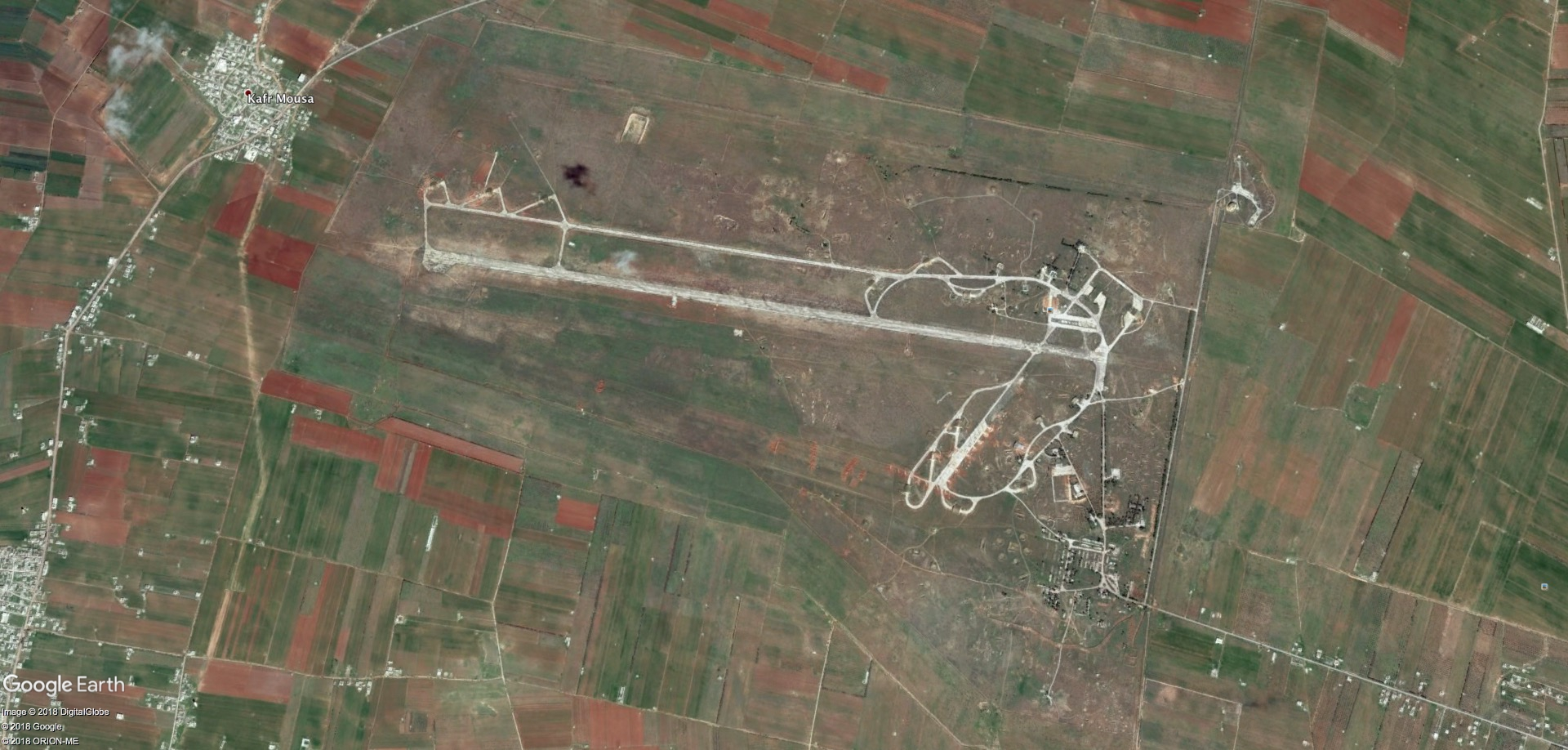 Deir Ez-Zor ammunition depot destroyed by Caliphate drone bomb on October 8 99