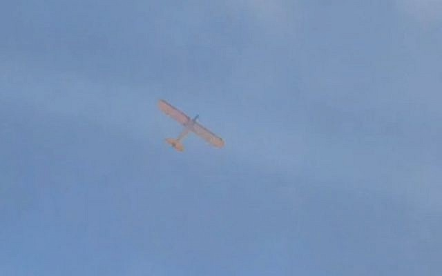 Israel Using Small Remote Controlled Airplanes To Combat Gazas
