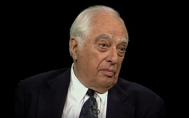 British Jewish historian Bernard Lewis (YouTube screenshot)