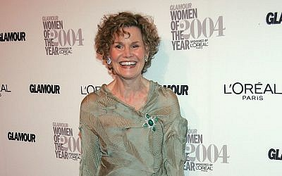 Judy Blume in New York City in 2004. (Evan Agostini/Getty Images/via JTA)