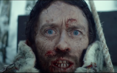Thomas Gullestad plays steely-eyed survivor Jan Sigurd Baalsrud in 'The 12th Man.' (YouTube)
