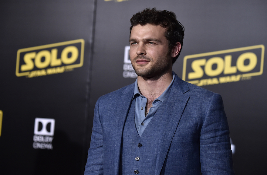 cb1a867b70ece Alden Ehrenreich attends the Premiere Of Disney Pictures And Lucasfilm s