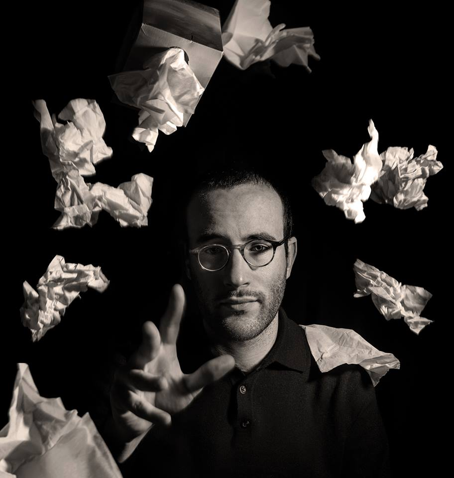 Founder of Israeli Stage Guy Ben-Aharon, who has produced more than 30 staged readings and full productions of Israeli plays since 2010 (courtesy)
