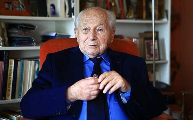 Stanislaw Likiernik, Polish WWII hero with Jewish roots. (Screen capture: YouTube)