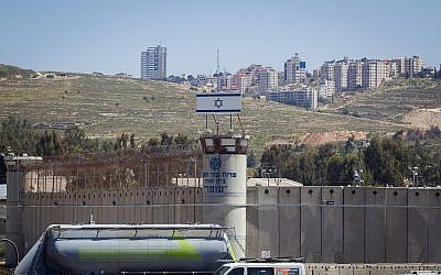 The Ofer military prison, near the West Bank city of Betunia, May 1, 2015. (Miriam Alster/ Flash90)