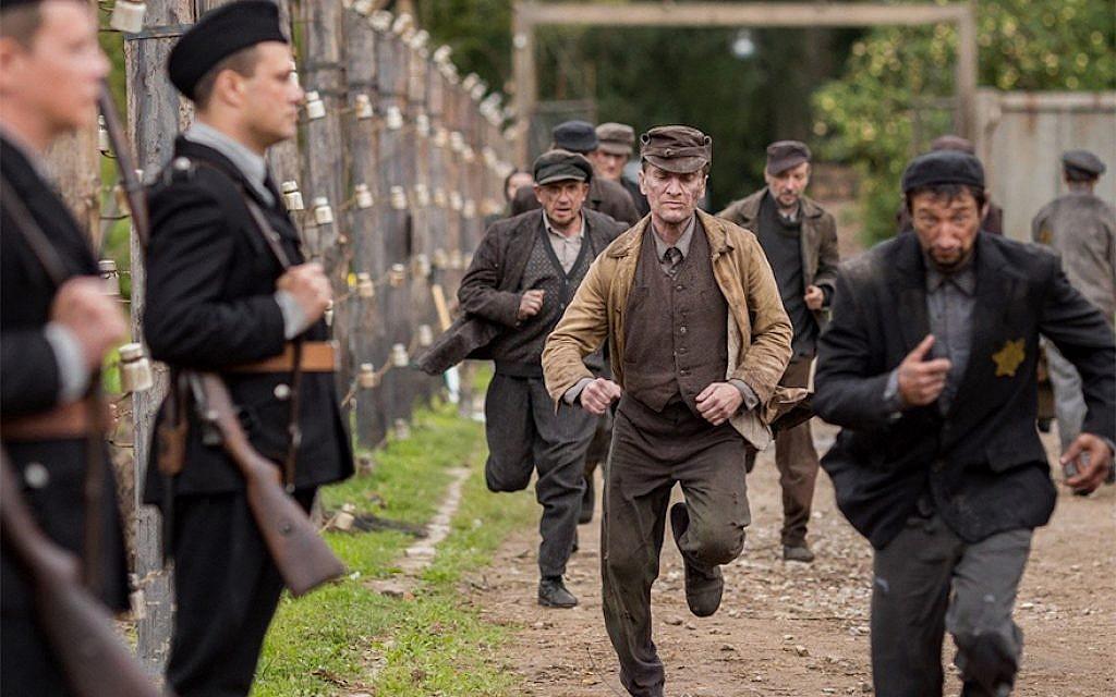 'Sobibor' explores the Nazi camp's internal politics. (Courtesy of Rosiya Segondiya/ via JTA)