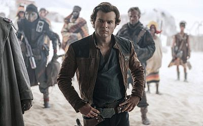 Alden Ehrenreich as Han Solo in the new movie 'Solo: A Star Wars Story.' (Courtesy Lucasfilm)