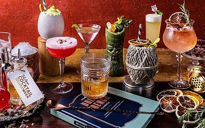 An array of cocktails that will be on offer during Tel Aviv's inaugural Cocktail Week, May 27-June 2, 2018 (Courtesy Cocktail Week)