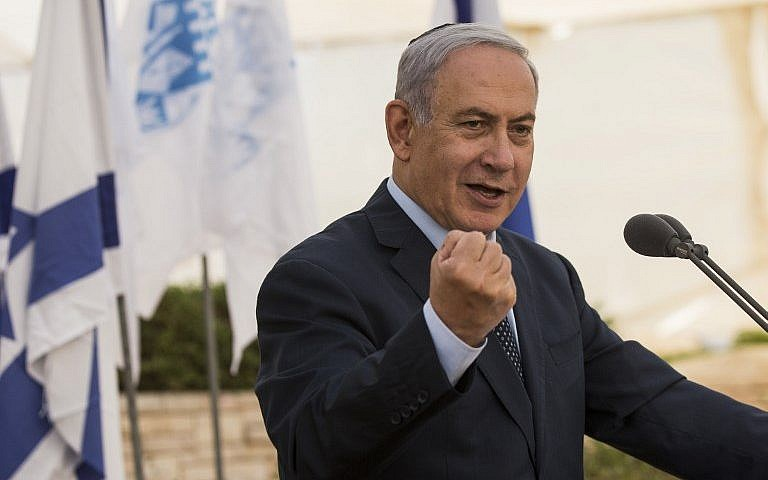 In France, Netanyahu predicts collapse of Iran deal under United States  sanctions pressure