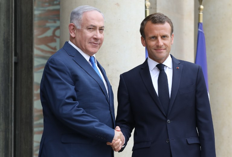Netanyahu Tells Macron Now Is Precisely Not The Time To Talk To Iran The Times Of Israel
