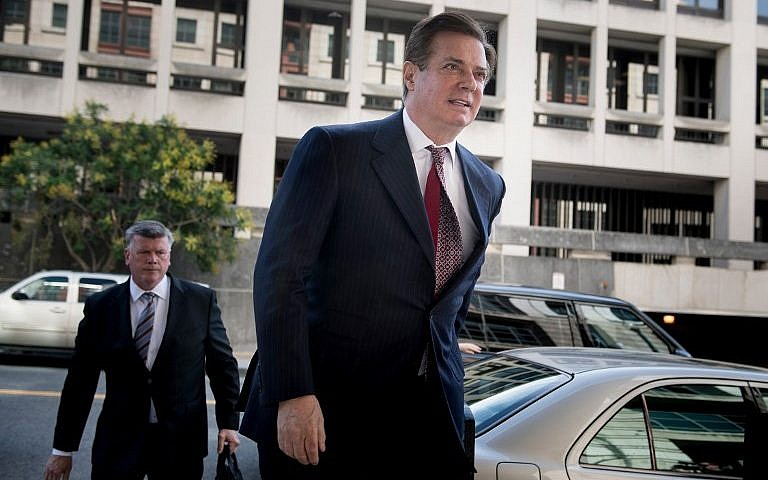 Former Trump campaign chief Manafort sent to jail
