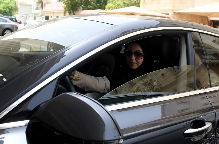First Time Driver >> Saudi Women Take The Wheel For First Time As Driving Ban Expires