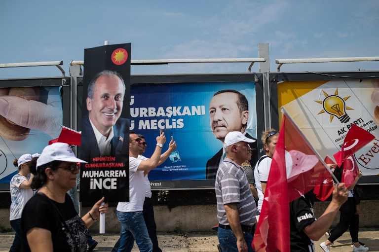 Erdogan rival accepts election results as world leaders congratulate Turkish president