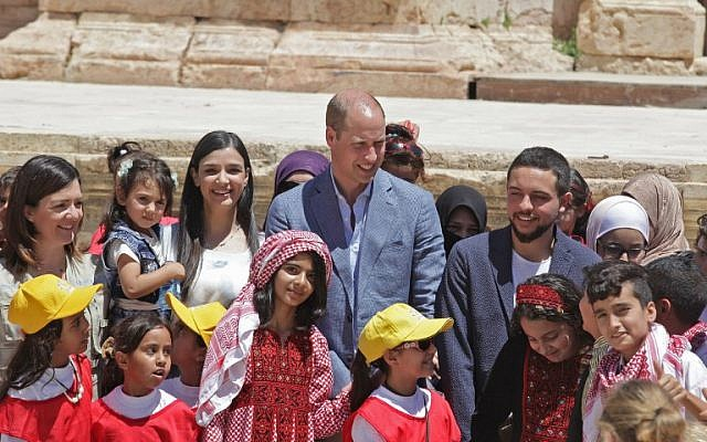 Prince William tours Tel Aviv, West Bank during historic Middle East trip