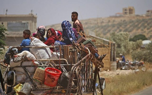 150,000 Flee Daraa towards Jordan, Israeli-Occupied Golan Heights