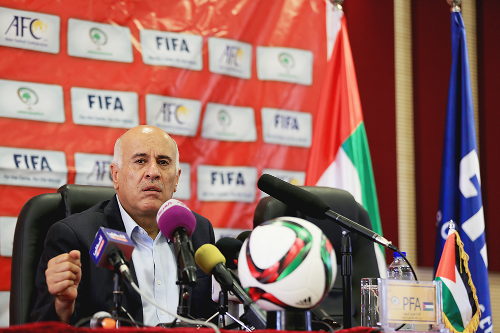 Burn FIFA slams 12 match ban on Rajoub Palestinian FA chief