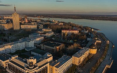 A view of the city of Arkhangelsk (CC-BY SA Forum Arctica/Wikipedia)
