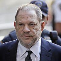 Harvey Weinstein arrives in court in New York, June 5, 2018. (AP Photo/Seth Wenig)