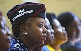 Supporters of Zimbabwe's opposition leader, Nelson Chamisa, during the launch of the party's election manifesto in Harare, June, 7, 2018. (AP Photo/Tsvangirayi Mukwazhi)