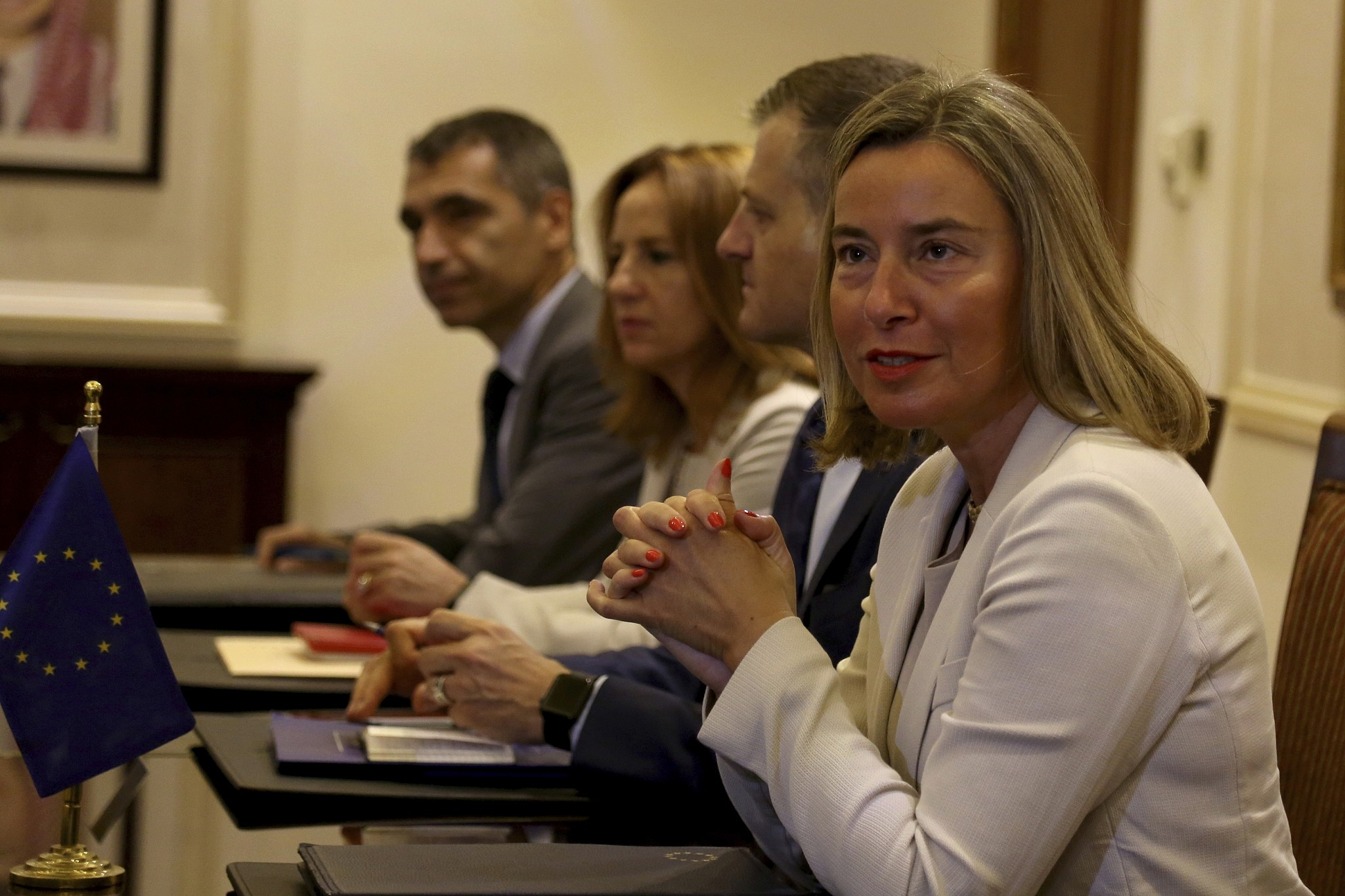 EU foreign policy chief assures Jordan of continued aid | The Times
