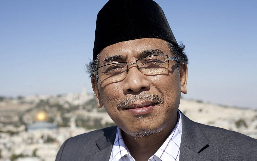 In Israel, top Indonesian cleric calls for 'compassion' between Muslims and Jews