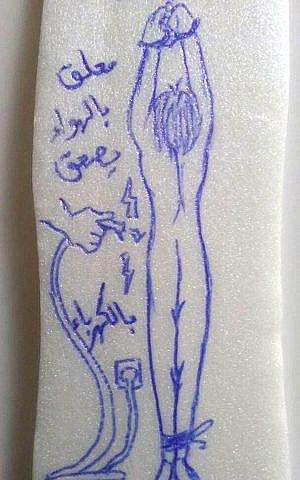 prisoner Drawings sexual
