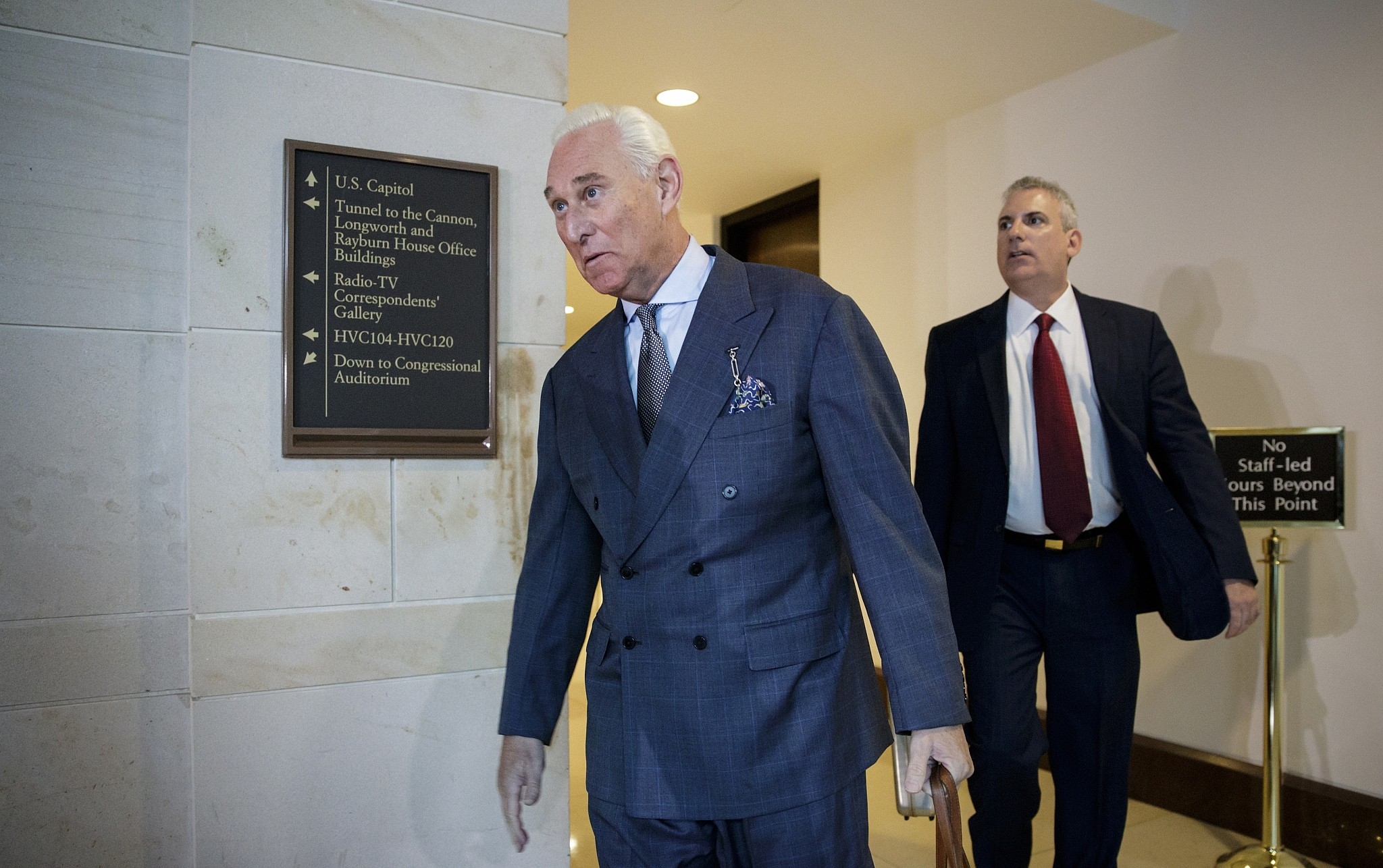 WaPo: Roger Stone met with Russian who wanted $2M for Clinton dirt