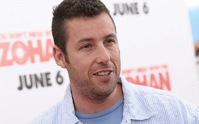 Actor Adam Sandler attends the 'You Don't Mess With The Zohan' premiere at the Ziegfeld Theater on Wednesday, June 4, 2008 in New York. (AP Photo/Evan Agostini)