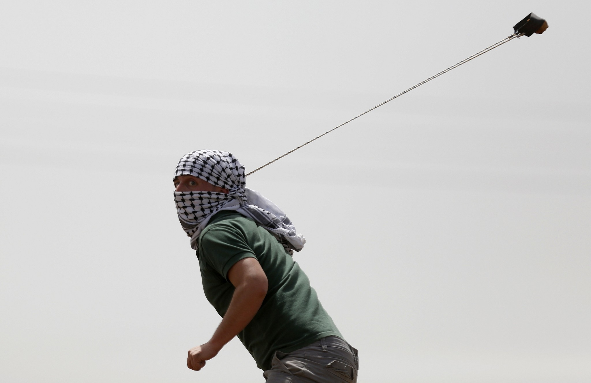 palestinian rock thrower shot dead by soldiers in west bank idf