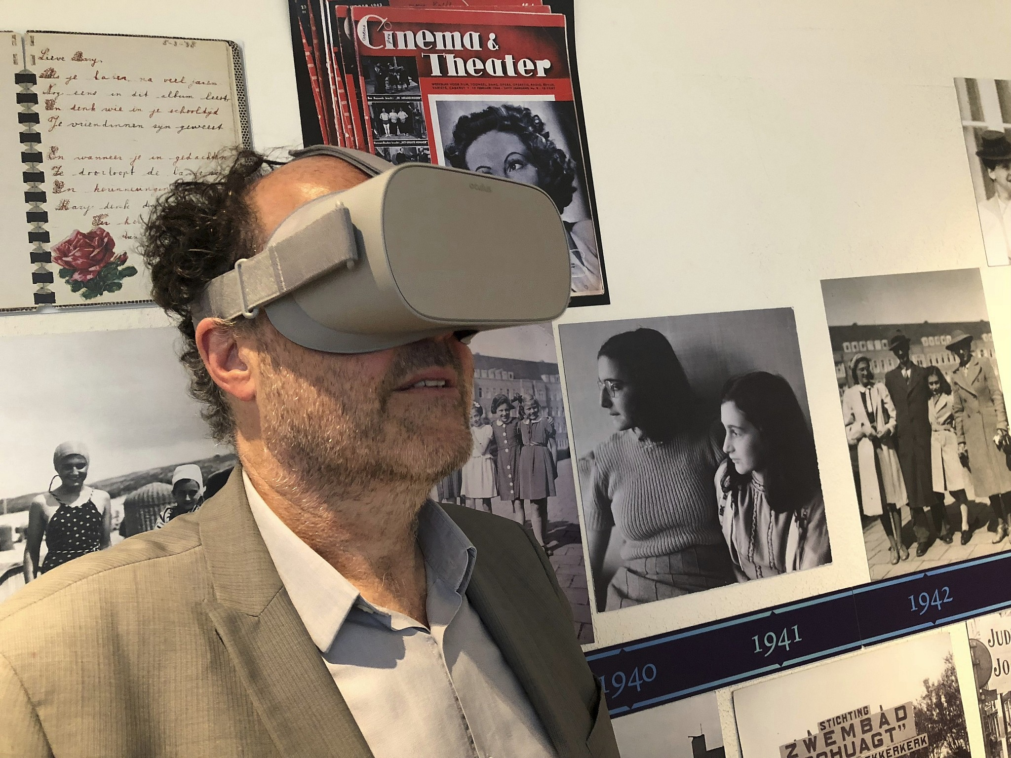 Anne Frank House Museum Unveils Virtual Reality Tour The Times Of Israel