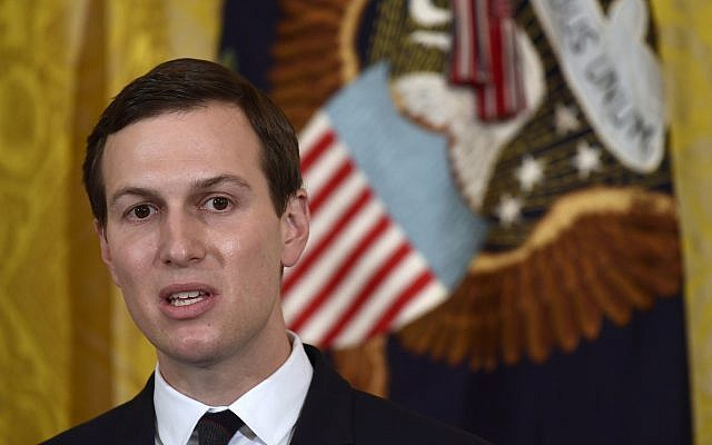 Kushner says punitive measures against Palestinians will help peace chances