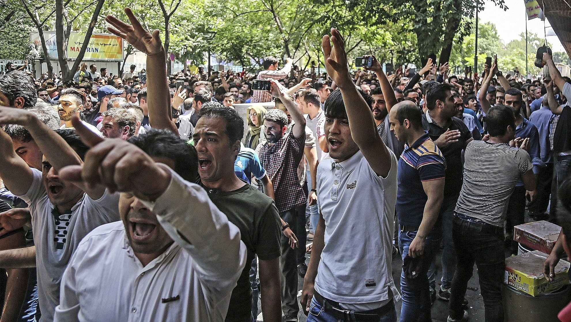 White House to Reimpose Iran Sanctions as Protests Rock Regime