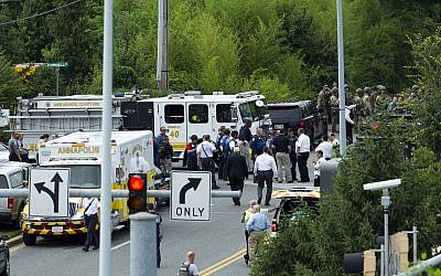 Maryland shooting: At least five shot dead at US newspaper office