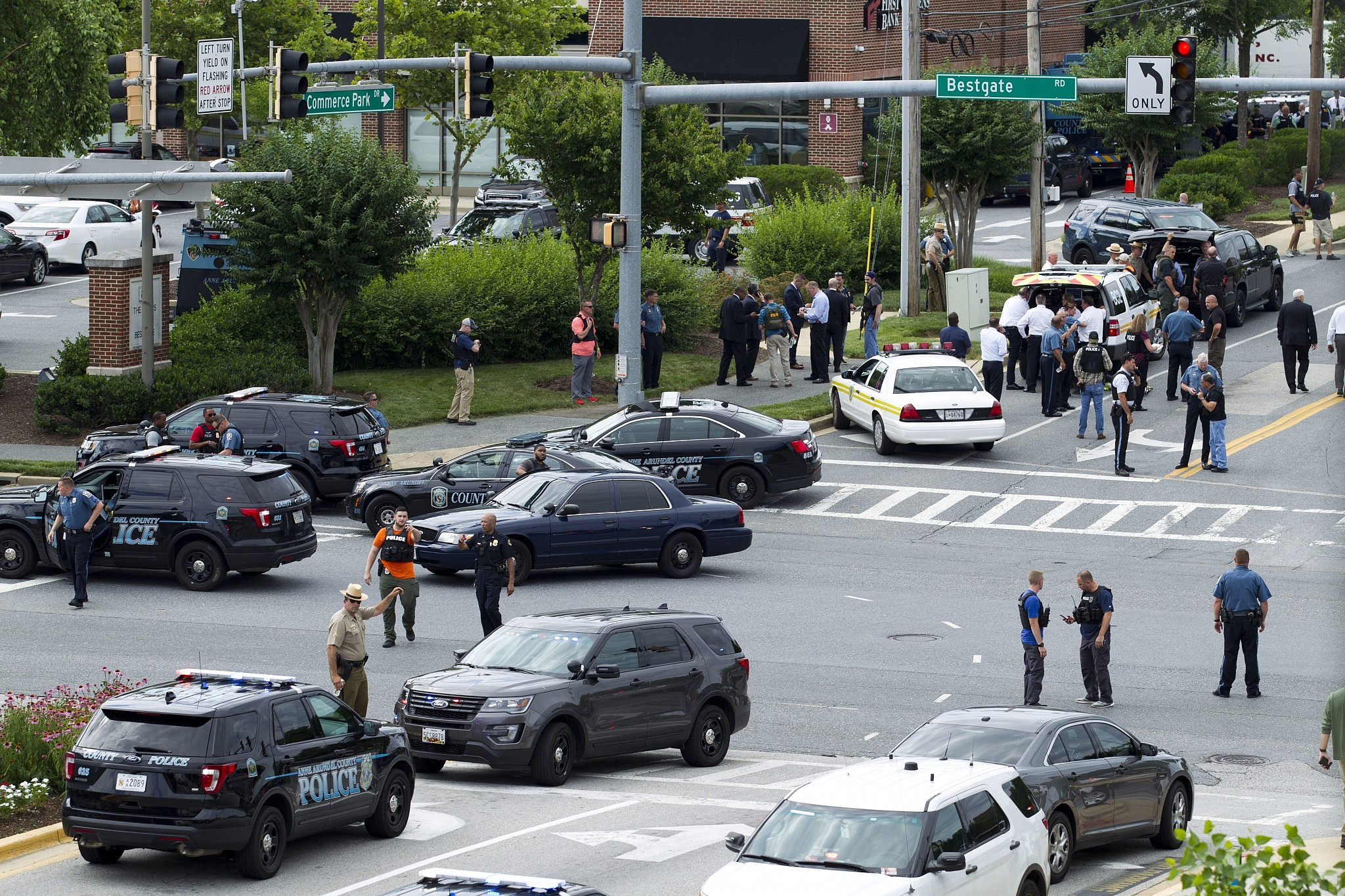 Maryland shooting: Five killed in attack on USA newspaper