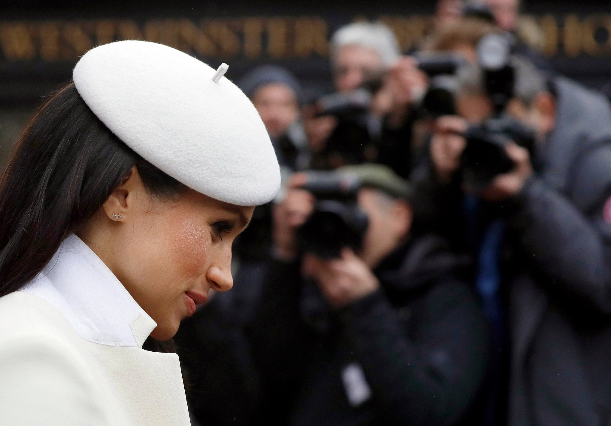Meghan Markle Wears Adina Reyter Earrings On Commonwealth Day March 12 2018