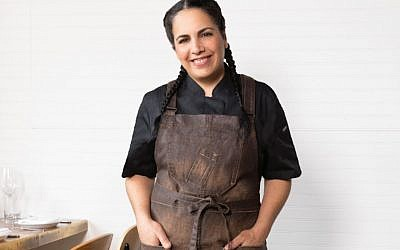 Chef Einat Admony of Kish-Kash. (Arron Brown)